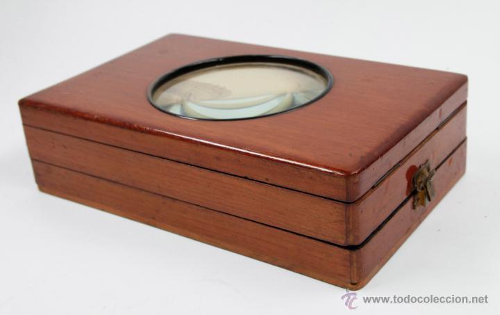 Cámara de fotos: Visor óptico para fotografías, 1900's. tamaño plegado: 22cm. x 13,5 ancho x 6cm alto ver fotos. - Foto 3 - 43129208