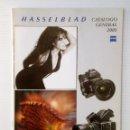 Cámara de fotos: HASSELBLAD CATALOGO GENERAL 2001. Lote 154821565