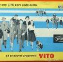 Cámara de fotos: VITO - VOIGTLÄNDER - CATALOGO PUCLICITARIO - ORIGINAL DE EPOCA - VER FOTOS. Lote 43512249