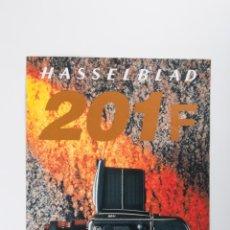 Cámara de fotos: FOLLETO HASSELBLAD 201F. Lote 43731800