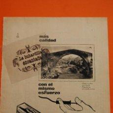 Cámara de fotos: PUBLICIDAD ORIGINAL - CARRETE FOTOS VALCA - JUN. 1959 - . Lote 44213844