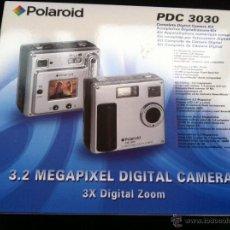 Cámara de fotos: CAMARA POLAROID. PDC 3030. 3,2 MEGAPIXEL. SIN USAR. EN CAJA. DESCATALOGADA.. Lote 44645979