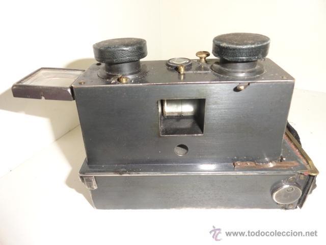 Cámara de fotos: Cámara estereoscópica Verascope de Jule Richard. Paris 1900 - Foto 2 - 44822521