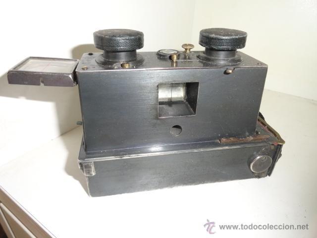 Cámara de fotos: Cámara estereoscópica Verascope de Jule Richard. Paris 1900 - Foto 10 - 44822521