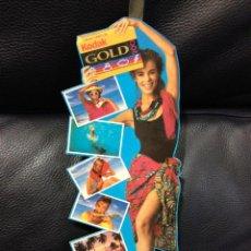Cámara de fotos: ORIGINAL DISPLAY OSCILANTE KODAK GOLD . MIDE 31 CM DE ALTO X 12 CM ANCHO. . Lote 45113933