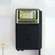 Cámara de fotos: FLASH KODAK EKTRON MODELO A ELECTRONICO ( COLECCIONISTAS ). Lote 26470928