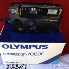 Cámara de fotos: CAMARA OLIMPUS SUPERZOOM 700BF. Lote 46032172