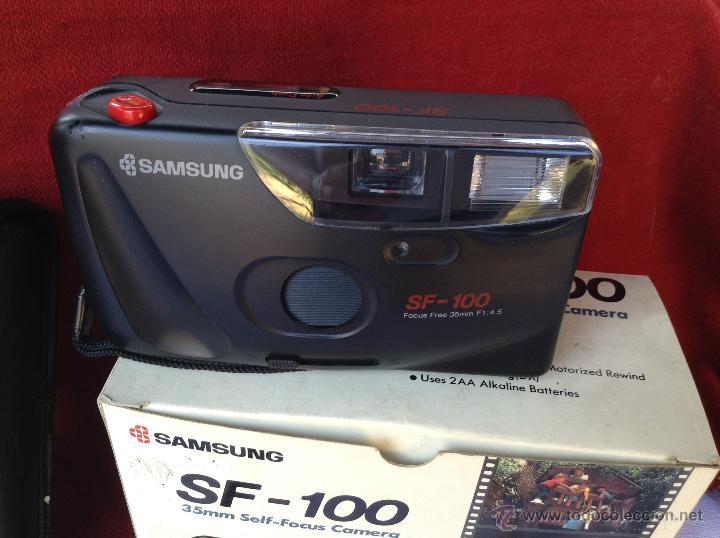 CAMARA SAMSUNG SF- 100 (Cámaras Fotográficas - Otras)