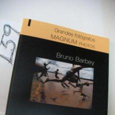 Cámara de fotos: LIBRO - GRANDES FOTOGRAFOS - BRUNO BARBEY. Lote 46054115