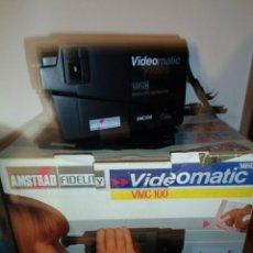 Cámara de fotos: VIDEO CAMARA AMSTRAD VIDEOMATIC VMC 100 AÑO 1988. Lote 46461422