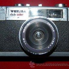 Cámara de fotos: CAMARA FOTOGRAFICA WERLISA CLUB COLOR. Lote 47099921