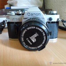 Cámara de fotos: ºººº CAMARA FOTOS CANON AE1 REFLEX + FLASH + ACCESORIOS - LEER DESCRIPCION. Lote 47571395