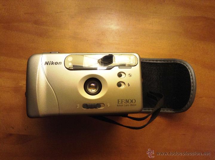 Cámara de fotos: CAMARA DE LA MARCA NIKON EF 300 LENS 29mm - Foto 2 - 47671810