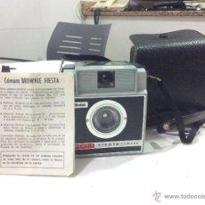 Cámara de fotos: CAMARA KODAK BROWNIE FIESTA - AÑOS 70. Lote 47827293