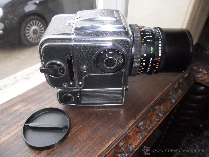 CAMARA FOTOS-CUERPO HASSELBAD 500 EL/M + OBJETIVO CARLS ZEISS DISTAGON 4/50 (Cámaras Fotográficas - Otras)