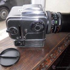 Cámara de fotos: CAMARA FOTOS-CUERPO HASSELBAD 500 EL/M + OBJETIVO CARLS ZEISS DISTAGON 4/50. Lote 47988449