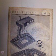 Cámara de fotos: CATÁLOGO ZEISS IKON A. - G. DRESDEN. LOS APARATOS ADICIONALES DE LA CONTAX.. Lote 48286300