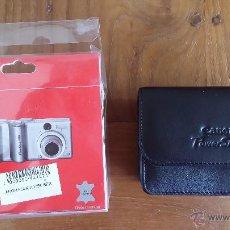 Cámara de fotos: FUNDA DE PIEL CANON SERIE A POWER SHOT. Lote 48313267