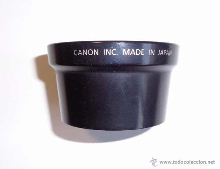 Cámara de fotos: ADAPTADOR LENTE CANON LA-DC58 y FILTRO JESSOP UV 58 MM - Foto 2 - 48748540