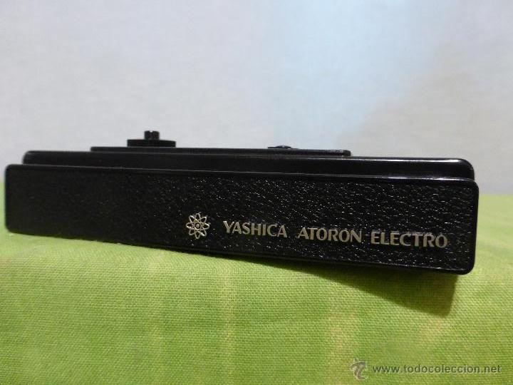 YASHICA ATORON ELECTRO SPY CAMERA SUBMINIATURA JAPÓN 1970 , PEFECTO ESTADO CON SU FUNDA ORIGINAL (Cámaras Fotográficas - Otras)