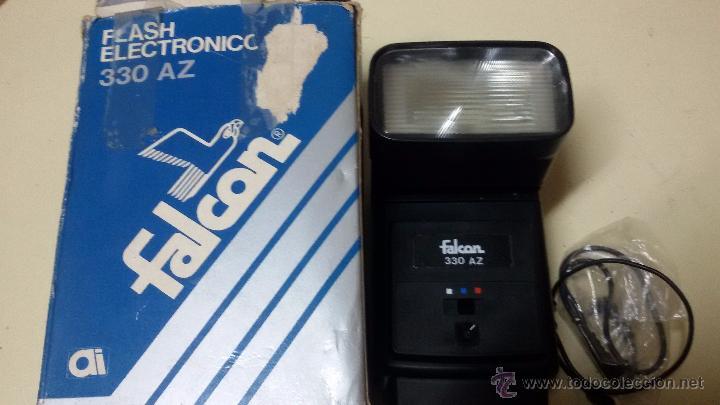 Cámara de fotos: FLASH ELECTRONICO FALCON 330 AZ EN SU CAJA ORIGINAL Y FUNCIONANDO - Foto 2 - 48887496