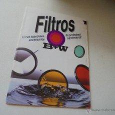 Cámara de fotos: FOLLETO DE FILTROS B+W-SCHNEIDER - KREUZNACH.- 1996. Lote 49035218