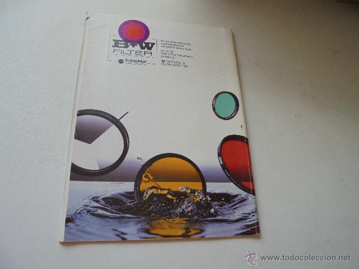 Cámara de fotos: FOLLETO DE FILTROS B+W-SCHNEIDER - KREUZNACH.- 1996 - Foto 2 - 49035218