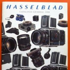 Cámara de fotos: HASSELBLAD - CATÁLOGO GENERAL 1996 - 34 PAGINAS. Lote 49432635