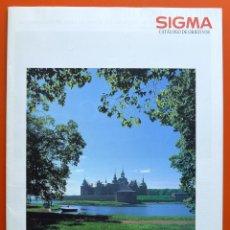 Cámara de fotos: SIGMA - CATALOGO DE OBJETIVOS PARA CÁMARAS REFLEX - 16 PAGINAS - AÑOS 80 - 90. Lote 49433941
