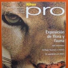 Cámara de fotos: NIKON PRO - OTOÑO 1997 - EXPOSICIÓN DE FLORA Y FAUNA - PHOTO SECRETARY - 50 PAGINAS. Lote 49434011