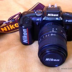 Cámara de fotos: CÁMARA FOTOGRÁFICA - NIKON - F-401-X , CON ZOOM 70-210 VIVITAR SIGMA. Lote 49449025