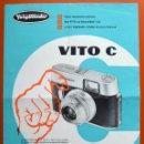 Cámara de fotos: VITO C - VOIGTLÄNDER - FOLLETO PUBLICITARIO DE CÁMARA FOTOGRÁFICA - ORIGINAL DE ÉPOCA - 50 -60. Lote 50021036