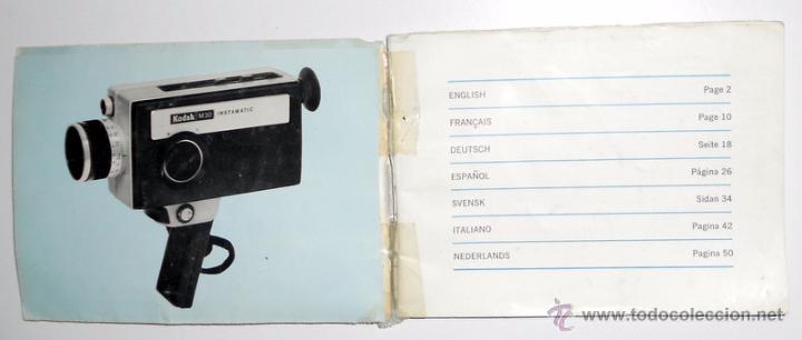 manual instrucciones camara camera kodak m30 in comprar manuales rh todocoleccion net 80s Kodak Cameras Kodak Pocket Instamatic