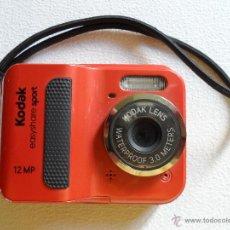 Cámara de fotos: ºººº CÁMARA DE FOTO ACUÁTICA EASYSHARE SPORT C123 - COMO NUEVA. Lote 50261036