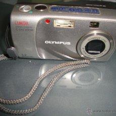 Cámara de fotos: LOTE CÁMARA FOTOGRÁFICA OLYMPUS CAMEDIA C 310 + FUNDA OLYMPUS .. Lote 50582478