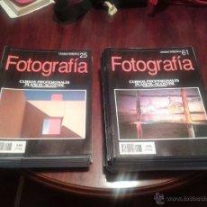 Cámara de fotos: LOTE DE 61UNIDADES DIDÁCTICAS DE CURSO PROFESIONAL DE FOTOGRAFÍA PLANETA AGOSTINI 1991 . Lote 50673160