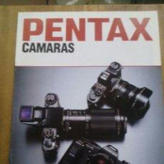 Cámara de fotos: CATÁLOGO PENTAX CAMARAS / 1984. Lote 50682076