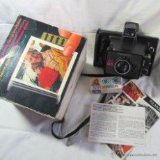 Cámara de fotos: CÁMARA FOTOGRÁFICA POLAROID EE55 EN CAJA CON INTRUCCIONES Y 2 FLASH. Lote 51001740