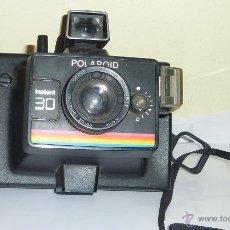 Cámara de fotos: DIFICIL ANTIGUA CAMARA FOTOGRAFICA POLAROID INSTANT 30 VINTAGE ARCOIRIS . FOTOS SIN PROBAR. Lote 51110933