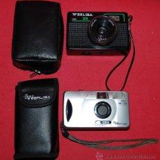 Cámara de fotos: LOTE DE DOS CAMARAS WERLISA. Lote 69746598