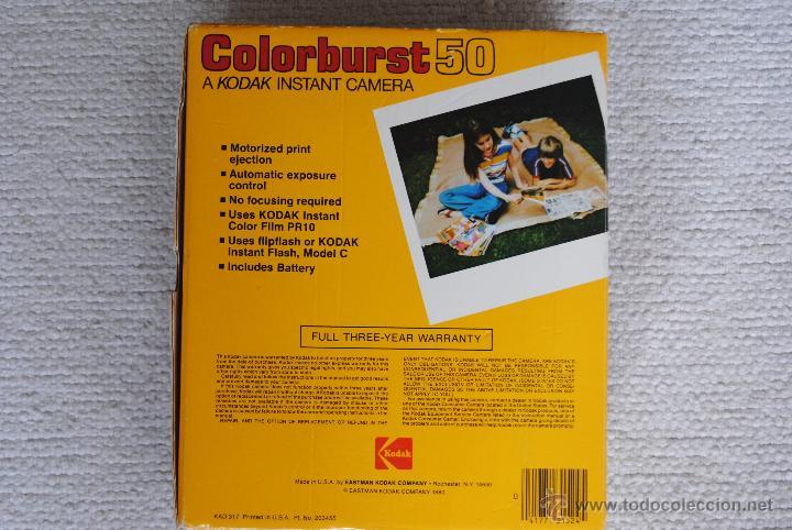 Cámara de fotos: CAMARA INSTANT KODAK COLORBURST 50 - Foto 3 - 51506711