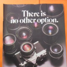 Cámara de fotos - PUBLICIDAD 1978 - COLECCION CAMARAS - NIKON FM - EN INGLES - 52448838