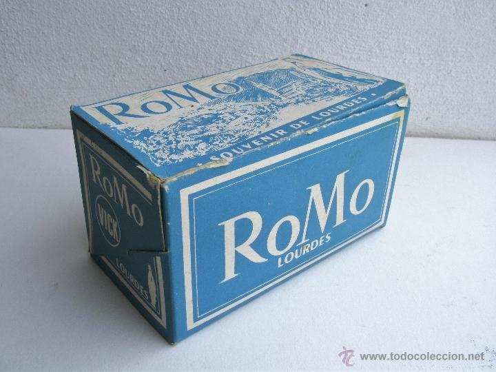 Cámara de fotos: visor estereoscopico romo con manual y caja y 11 cuadros de fotos - souvenir de lourdes - Foto 3 - 52459075