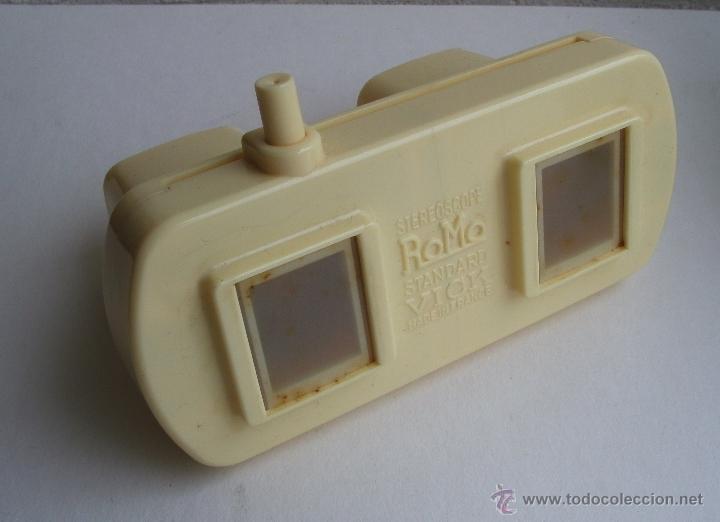 Cámara de fotos: visor estereoscopico romo con manual y caja y 11 cuadros de fotos - souvenir de lourdes - Foto 6 - 52459075