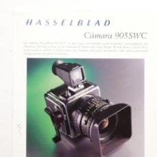 Cámara de fotos: HASSELBALD 905SWC OBJETIVOS 203FE VISORES 501CM FLEXBODY 555ELD 503CW 202FA. Lote 52763992