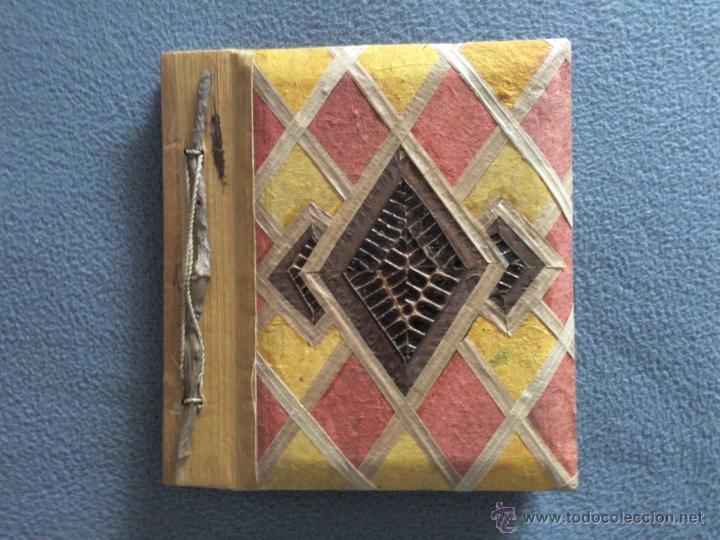 Album de fotos artesanal en papel reciclado y comprar - Album de fotos ...