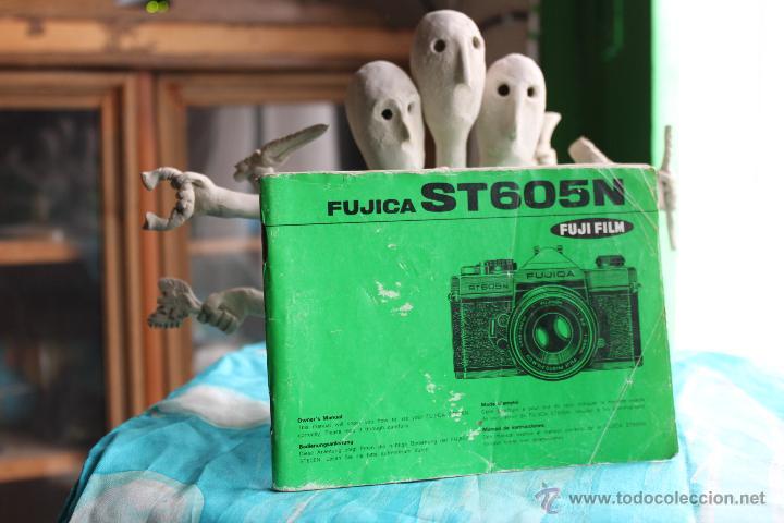 FOLLETO INSTRUCCIONES FUJICA ST605 N (Cámaras Fotográficas - Catálogos, Manuales y Publicidad)