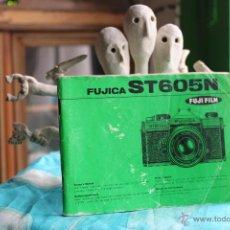 Cámara de fotos: FOLLETO INSTRUCCIONES FUJICA ST605 N . Lote 53337268