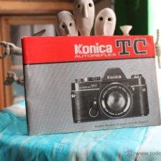 Cámara de fotos: FOLLETO INSTRUCCIONES KONICA TC. Lote 53337568