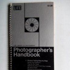Cámara de fotos: PHOTOGRAPHER'S HANDBOOK. LIFE LIBRARY OF PHOTOGRAPHY. USA 1976. TIME LIFE BOOKS.. Lote 53839674
